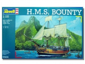 Revell - Сглобяем модел H.M.S. Bounty 05404