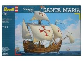 Revell - Сглобяем модел Ветроходен кораб Санта Мария 05405