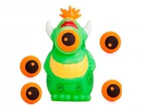 Squeeze Popper Извънземно Eye Изстрелвачка с меки топчета 54440