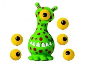 Squeeze Popper Извънземно Opto Изстрелвачка с меки топчета 54705