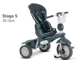 Smart trike - Детска триколка Dazzle 5 в 1 сива 11055