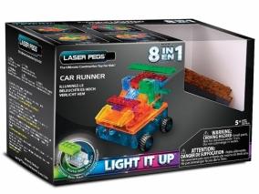 Laser Pegs - Светещ конструктор 8в1 КОЛA RN1320B