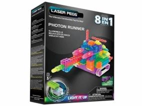 Laser Pegs - Светещ конструктор 8в1 RN2180B