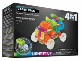 Laser Pegs - Светещ конструктор 4в1 КАМИОН MPS600B