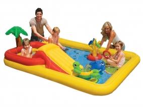 INTEX - Надуваем детски център с пързалка 757454