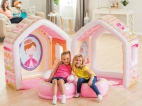 INTEX - Надуваема къщичка за игра за принцеси 748635J