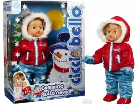 Ciccio Bello - Пълзяща кукла със зимни дрехи CCB05001
