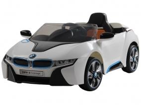 OCIE - Акумулаторна кола с родителски контрол 12V BMW I8 CONCEPT БЯЛ 8010221