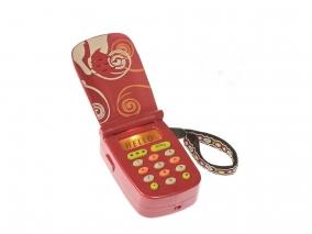 BATTAT - Интерактивен телефон със звук и светлина - червен BTBX1177Z