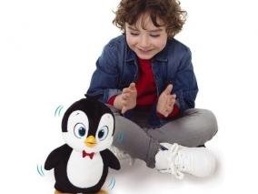 IMC Toys - Интерактивен танцуващ пингвин PEEWEE 95885