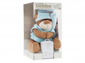Doodoo Babiage - Плюшено мече с успокояващ звук, синьо 3580011